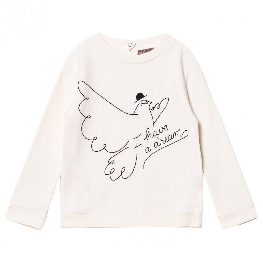 Emile Et Ida I Have A Dream Sweater Ecru Oloasun Paita