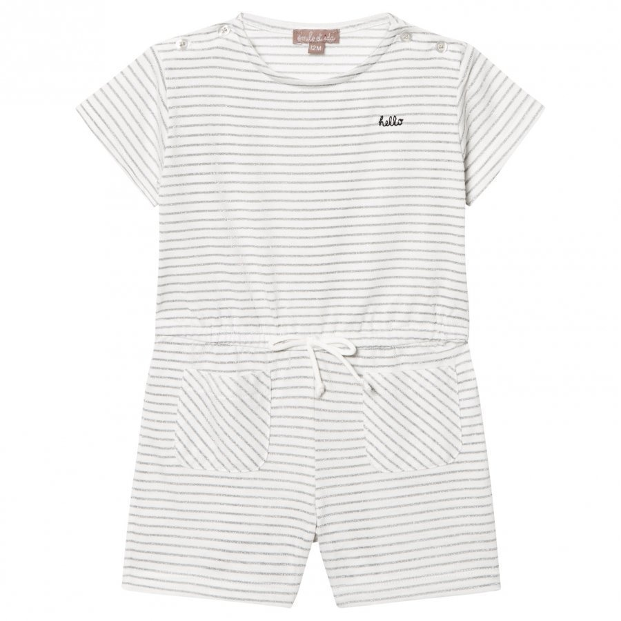 Emile Et Ida Playsuit Rayure Body