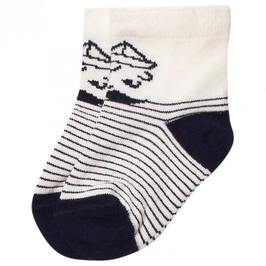 Emile Et Ida Sailor Stripe Socks Sukat
