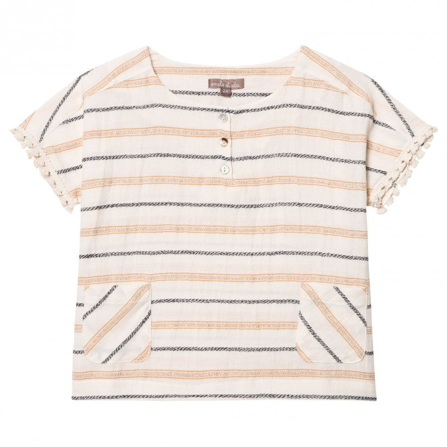 Emile Et Ida Striped Blouse Raye Pusero