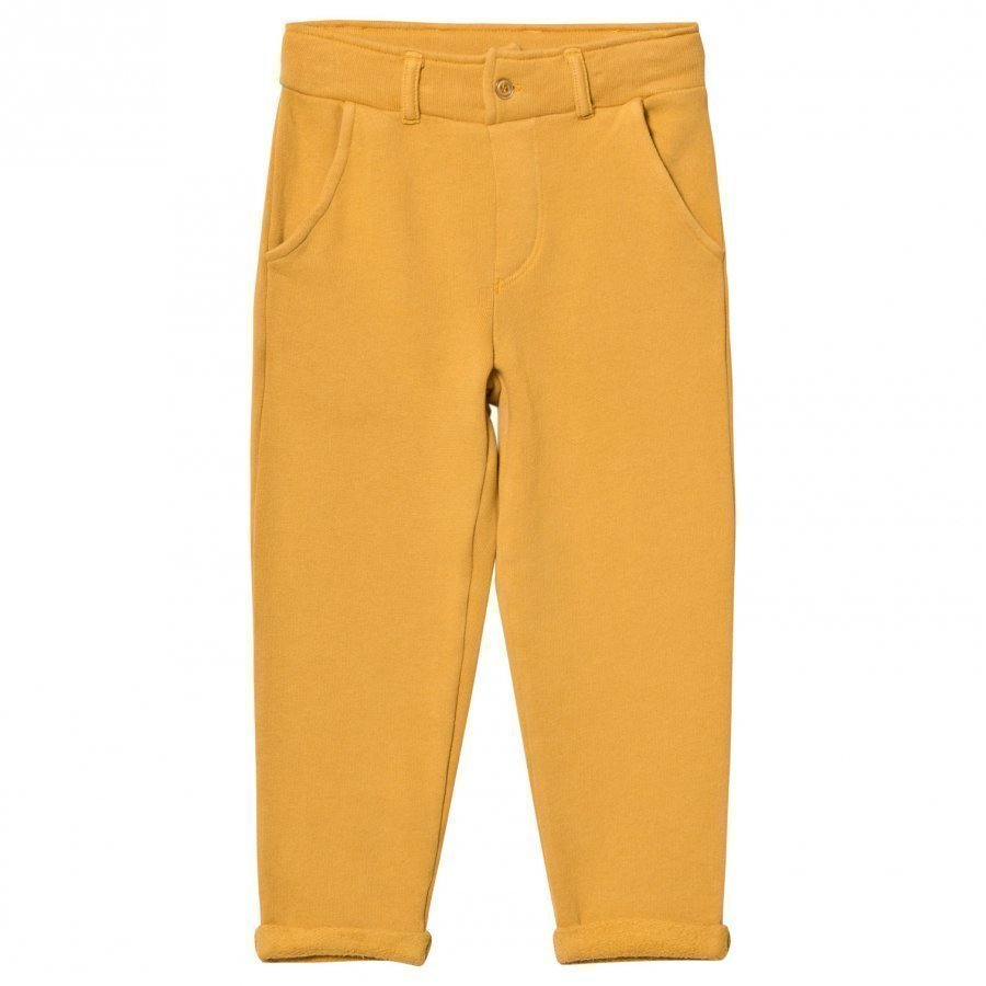 Emile Et Ida Sweatpants Ocre Housut