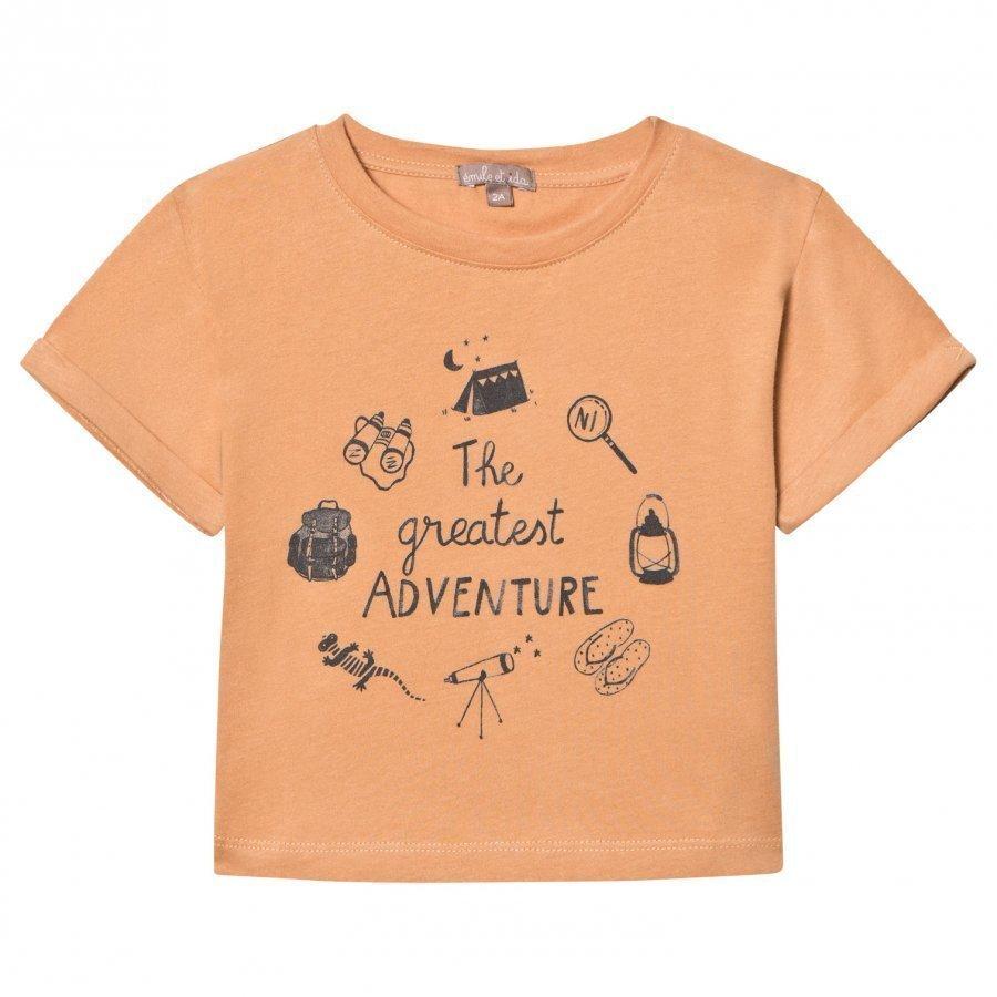 Emile Et Ida Tee Shirt Madeleine Aventure T-Paita