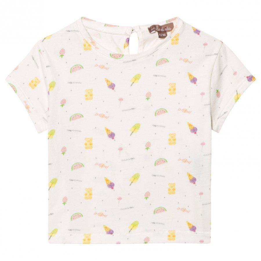 Emile Et Ida Tee Shirt Sucre Bonbons T-Paita