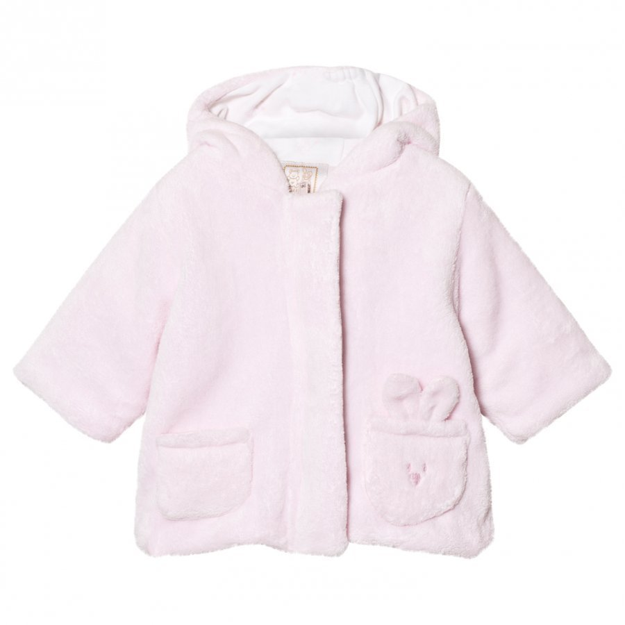 Emile Et Rose Layan Fleece Coat Pale Pink Fleece Huppari