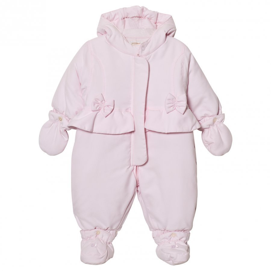 Emile Et Rose Layla Pale Pink Padded Coverall Toppahaalari