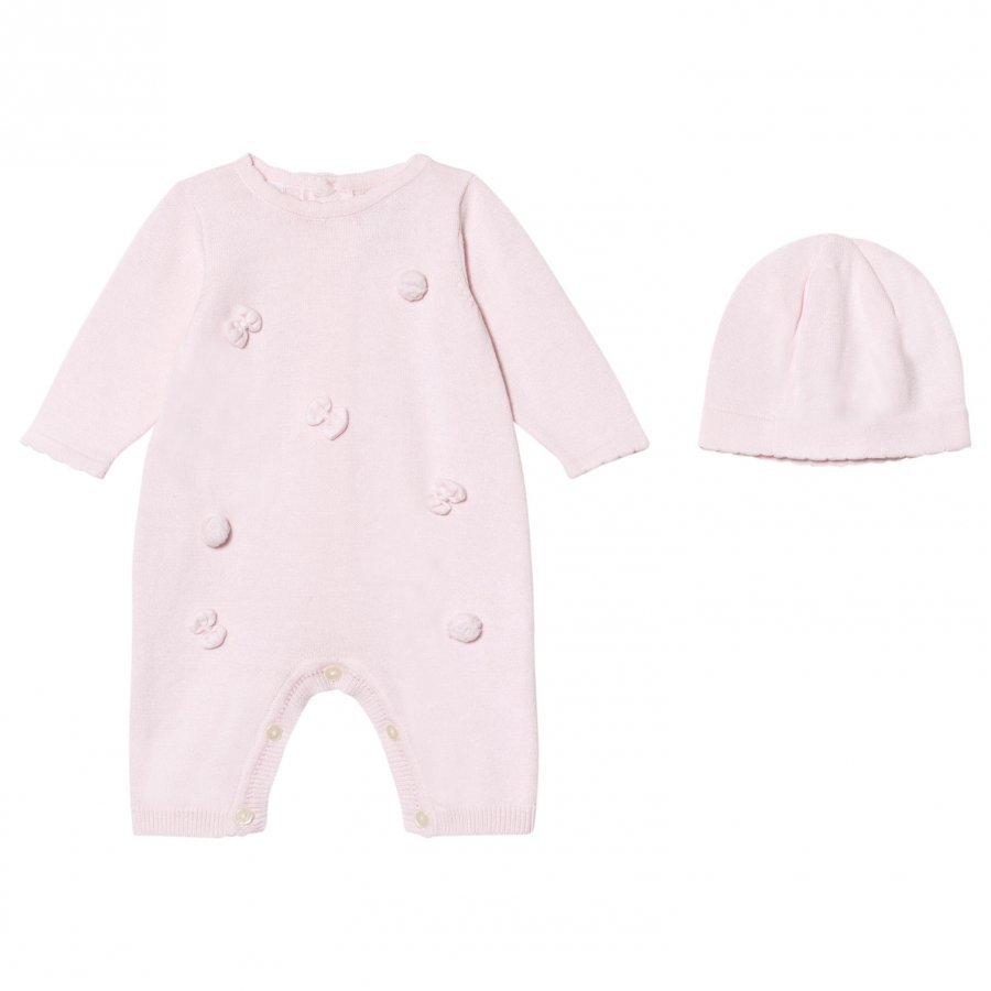 Emile Et Rose Liz Pink Knitted One-Piece Body