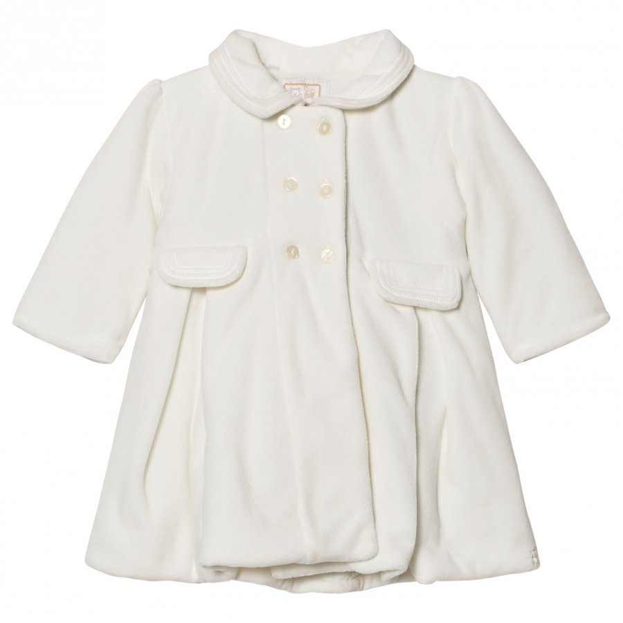 Emile Et Rose Lucinda Cream Double Breasted Coat Set Toppatakki