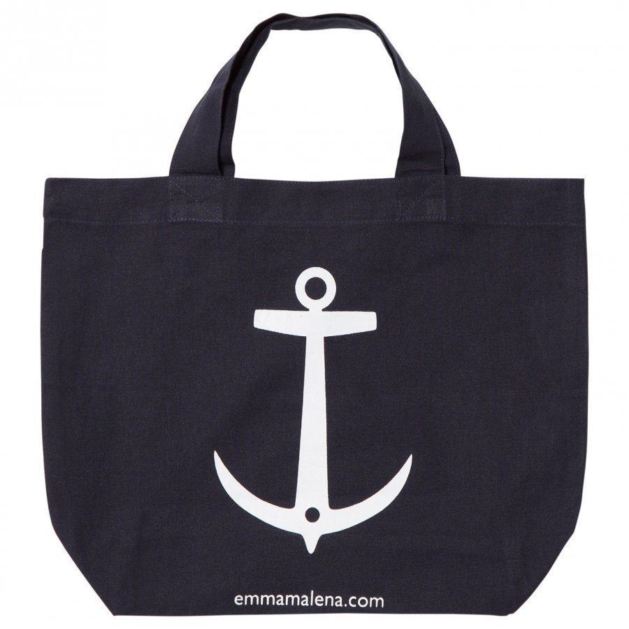 Emma Och Malena Anchor Bag Mini Navy Kassi
