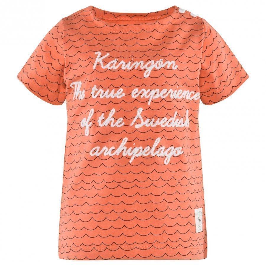 Emma Och Malena Archipelago T-Shirt Shrimp T-Paita