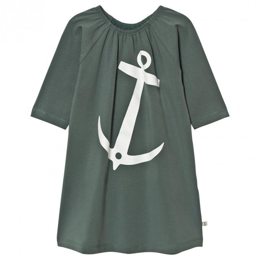 Emma Och Malena Em Stella Dress Anchor Green Mekko