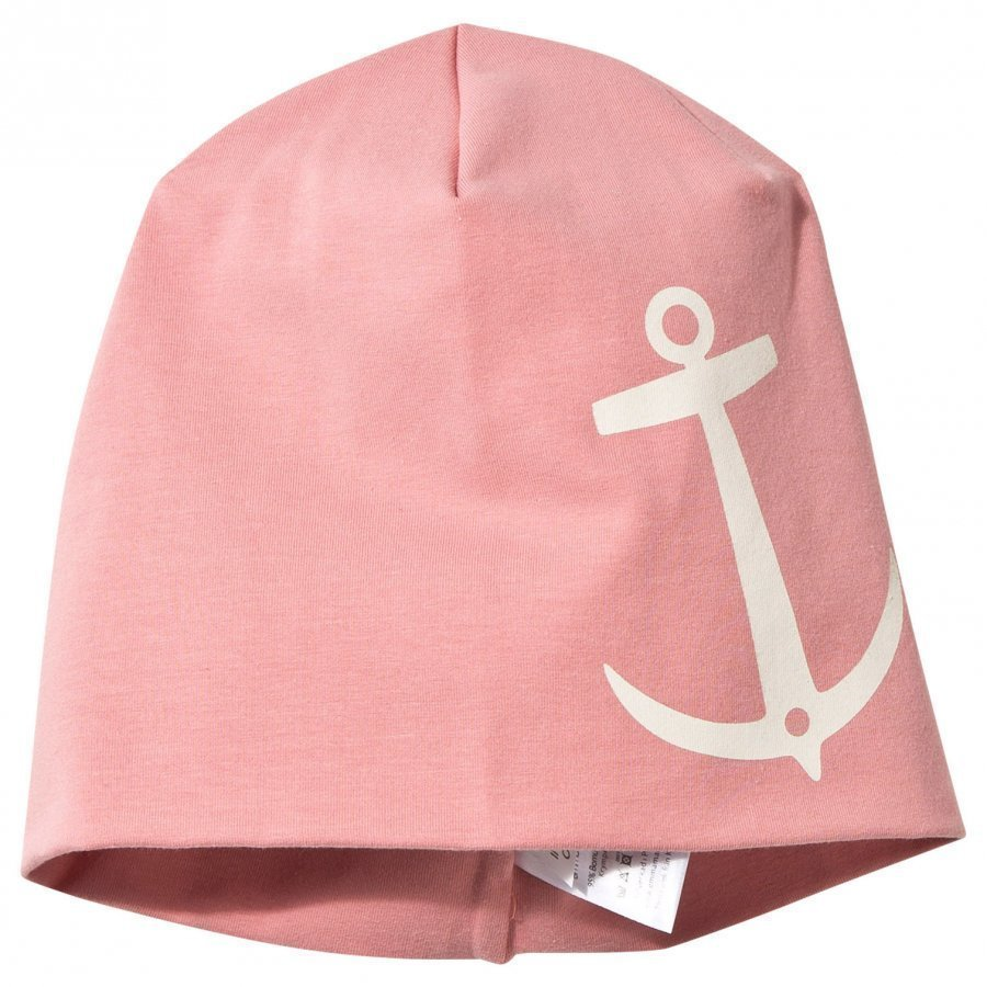 Emma Och Malena Hat Old Pink Anchor Print Pipo