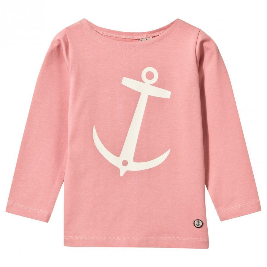 Emma Och Malena Nisse T-Shirt Old Pink Pitkähihainen T-Paita
