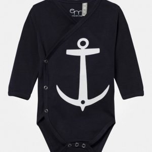 Emma Och Malena Wrap Baby Body Anchor Navy Body