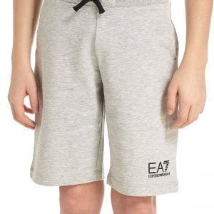 Emporio Armani Ea7 Core Fleece Shorts Grey Marl