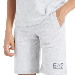 Emporio Armani Ea7 Core Fleece Shorts Harmaa