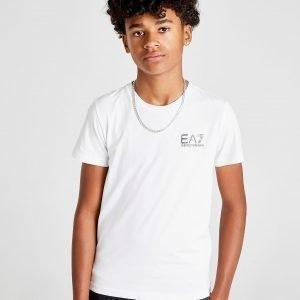 Emporio Armani Ea7 Core Logo T-Shirt Valkoinen