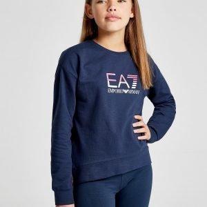 Emporio Armani Ea7 Girls' Training Crew Sweatshirt Laivastonsininen