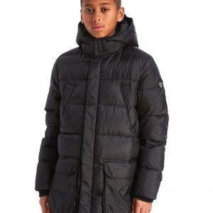 Emporio Armani Ea7 Mountain Parka Jacket Musta