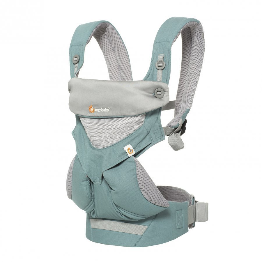 Ergobaby 4 Position Baby Carrier Cool Air Icy Mint Kantoreppu