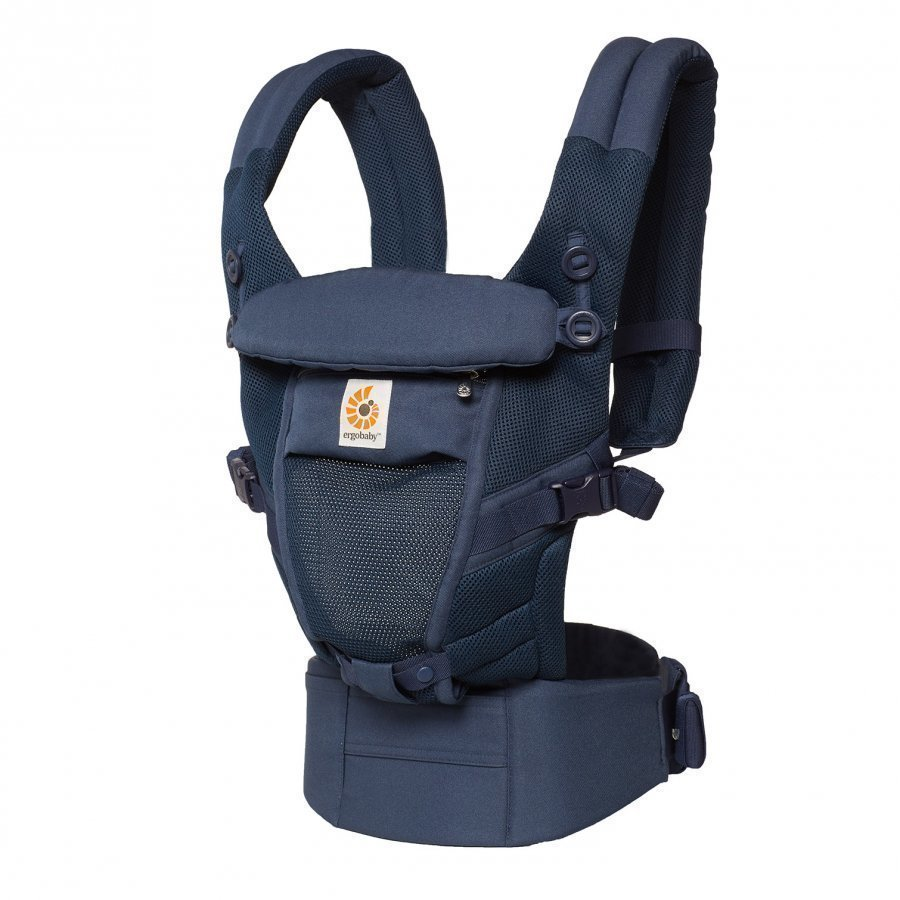 Ergobaby Adapt Baby Carrier Cool Air Mesh Deep Blue Kantoreppu