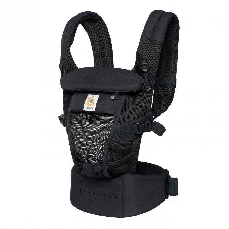 Ergobaby Adapt Baby Carrier Cool Air Mesh Onyx Black Kantoreppu