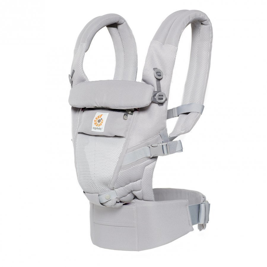 Ergobaby Adapt Baby Carrier Cool Air Mesh Pearl Grey Kantoreppu