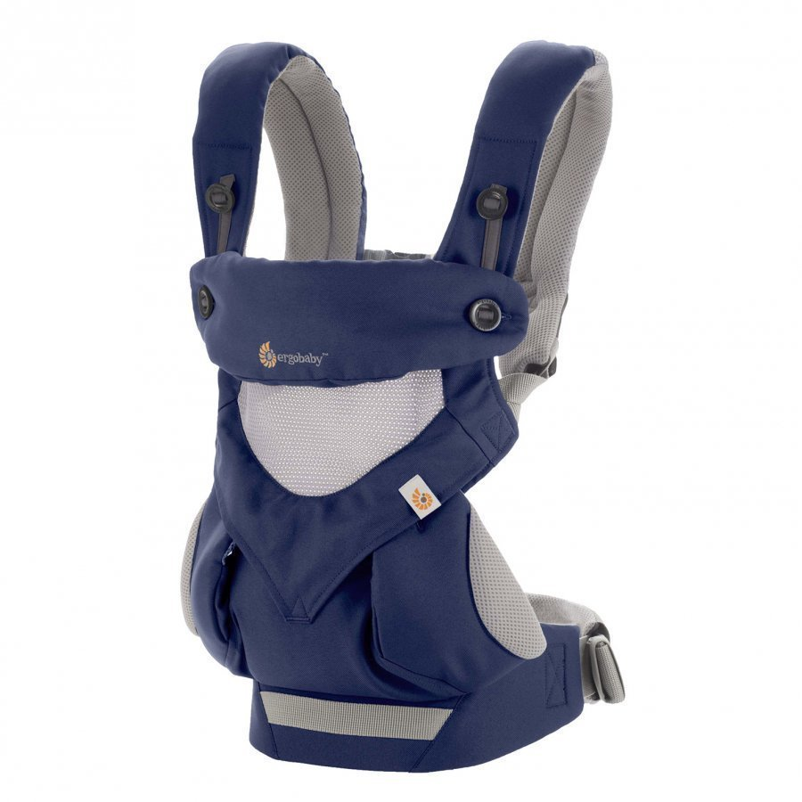 Ergobaby Baby Carriers: Performance 360 Cool Air French Blue Kantoreppu