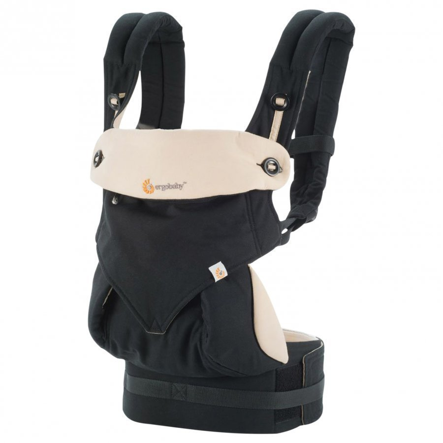 Ergobaby Four Position 360 Baby Carrier Black/Camel Kantoreppu