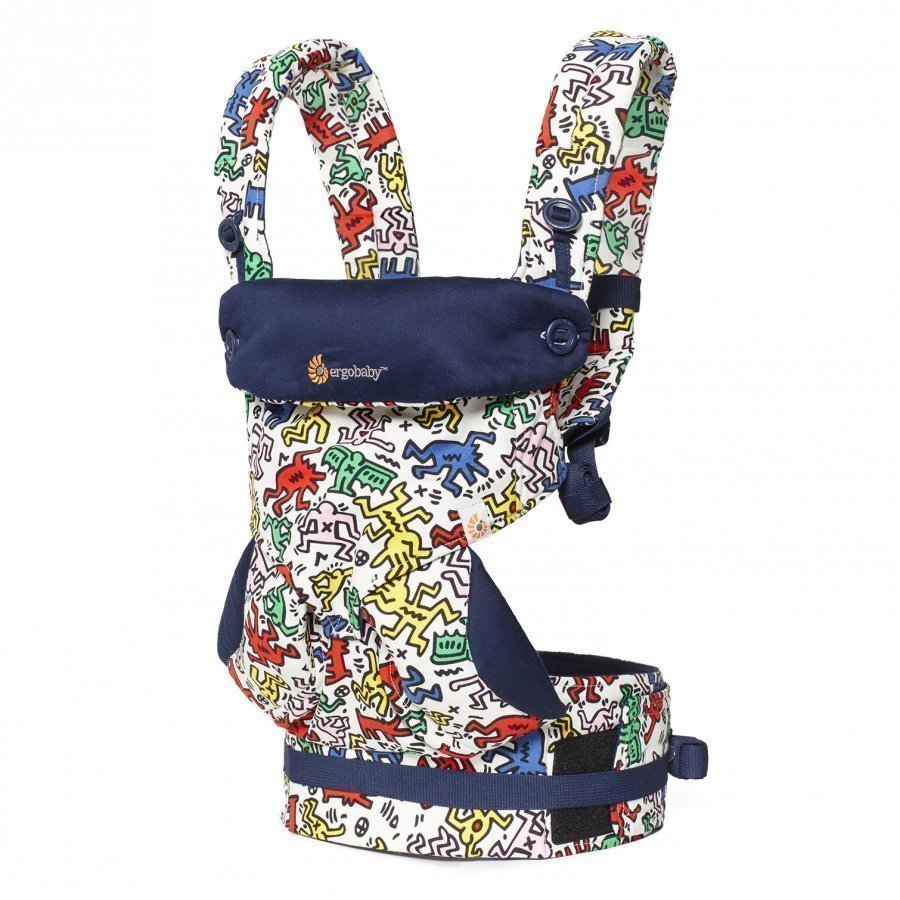 Ergobaby Four Position 360 Baby Carrier Keith Haring Pop Special Edition Kantoreppu
