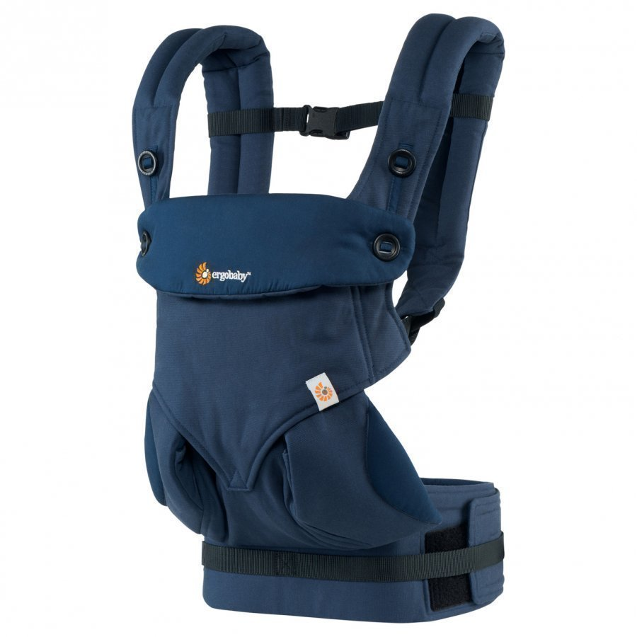 Ergobaby Four Position Baby Carrier Mid-Night Blue Kantoreppu