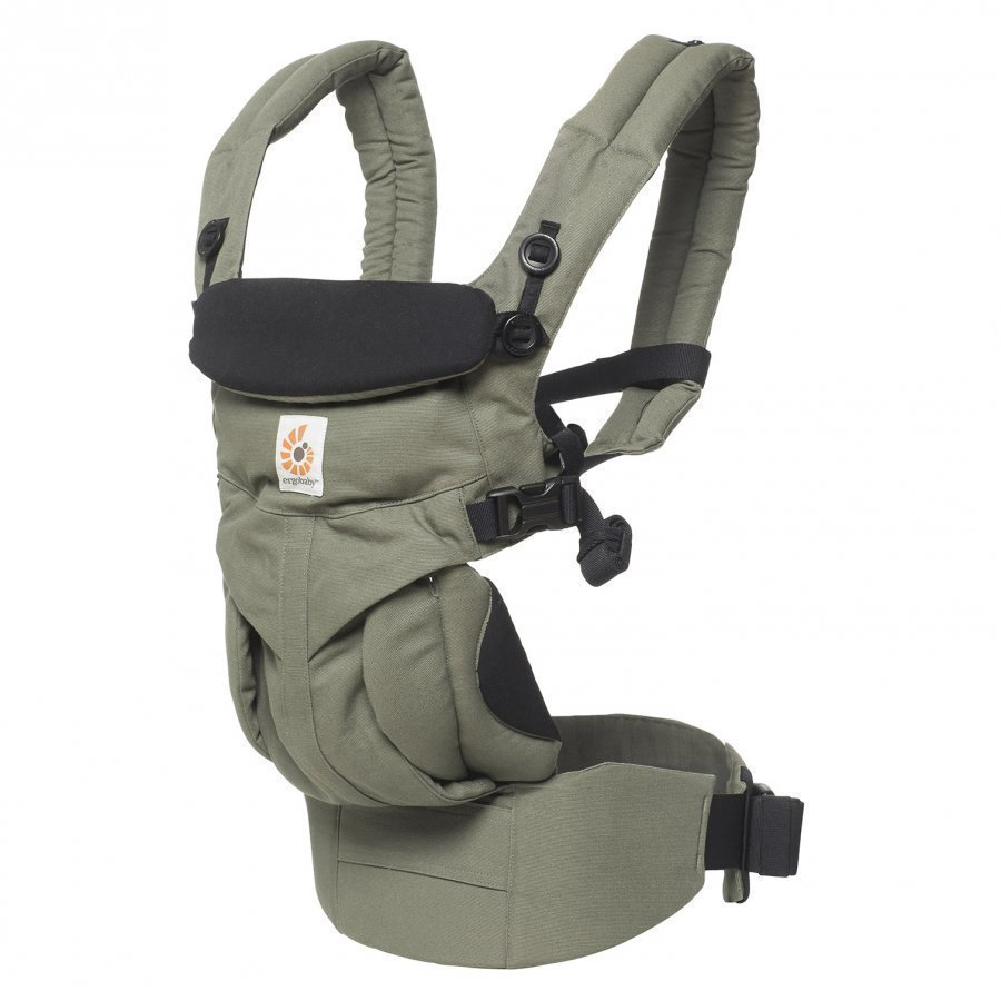 Ergobaby Omni 360 Baby Carrier All-In-One Khaki Green Kantoreppu