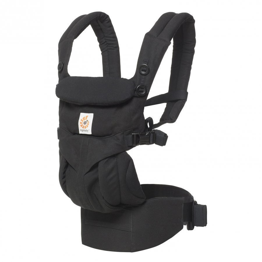 Ergobaby Omni 360 Baby Carrier All-In-One Pure Black Kantoreppu