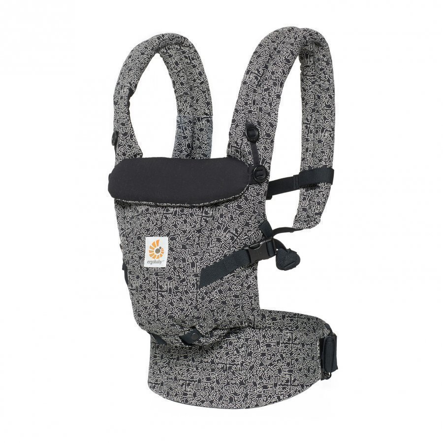 Ergobaby Original Adapt Baby Carrier Keith Haring Black Special Edition Kantoreppu