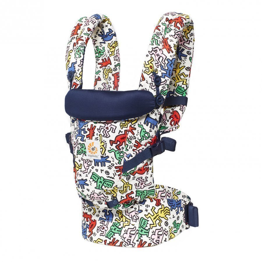Ergobaby Original Adapt Baby Carrier Keith Haring Pop Special Edition Kantoreppu