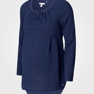 Esprit Maternity Blouse Wvn Ls Night Blue Pusero Äidille