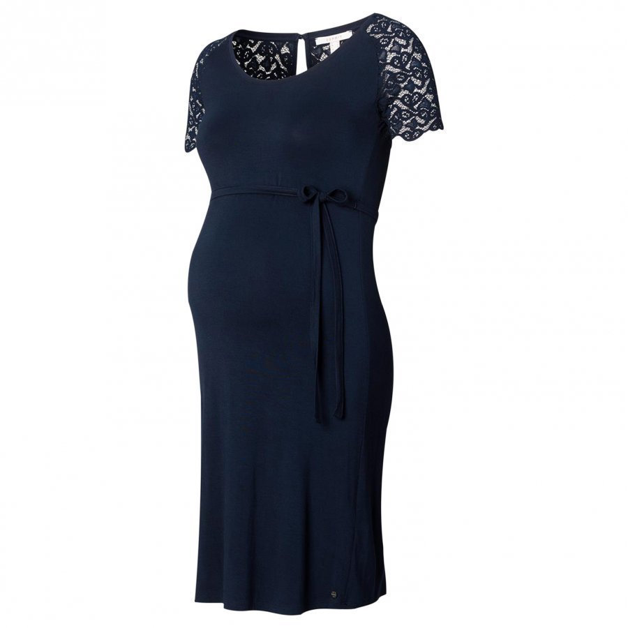 Esprit Maternity Dress Night Blue Raskausmekko