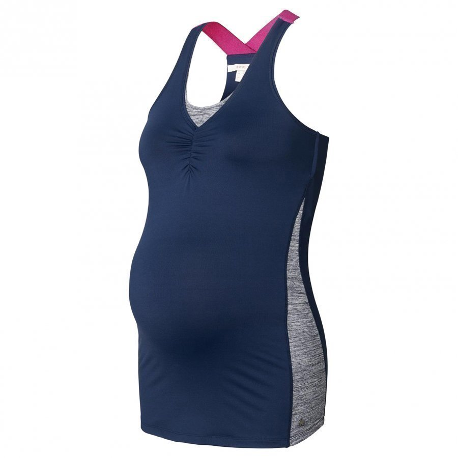 Esprit Maternity Sports Tank Top Night Blue Toppi Äidille