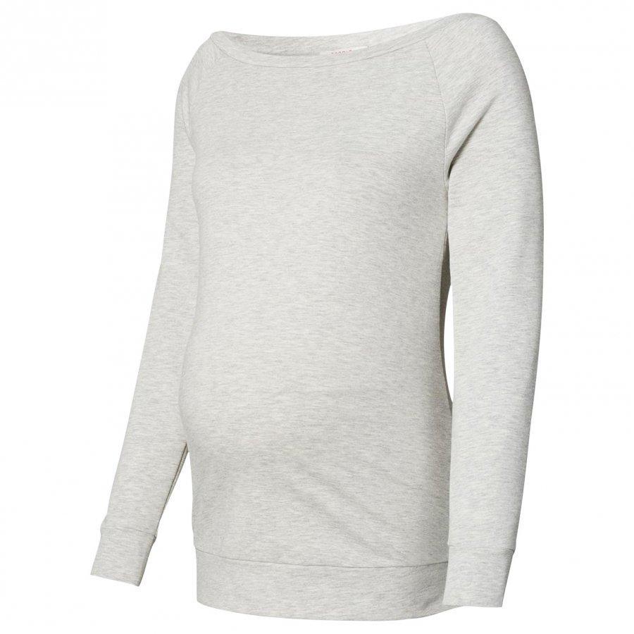 Esprit Maternity Sweatshirt Pale Grey Melange Collegepusero Äidille