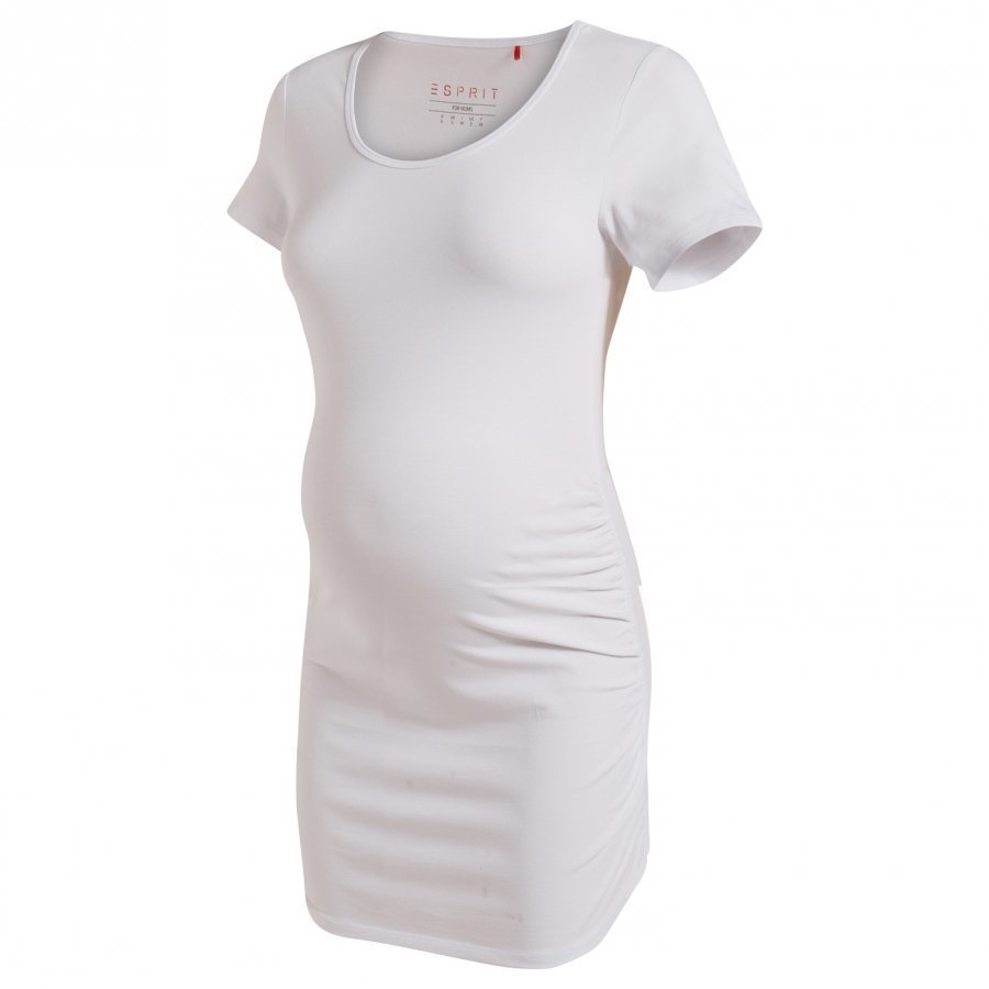Esprit Maternity Tee Ss White T-Paita