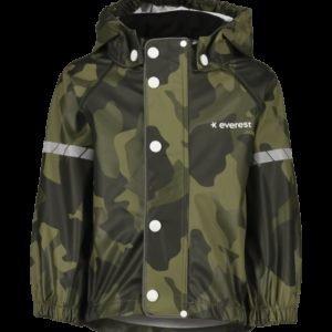 Everest Rain Printed Jacket Sadetakki