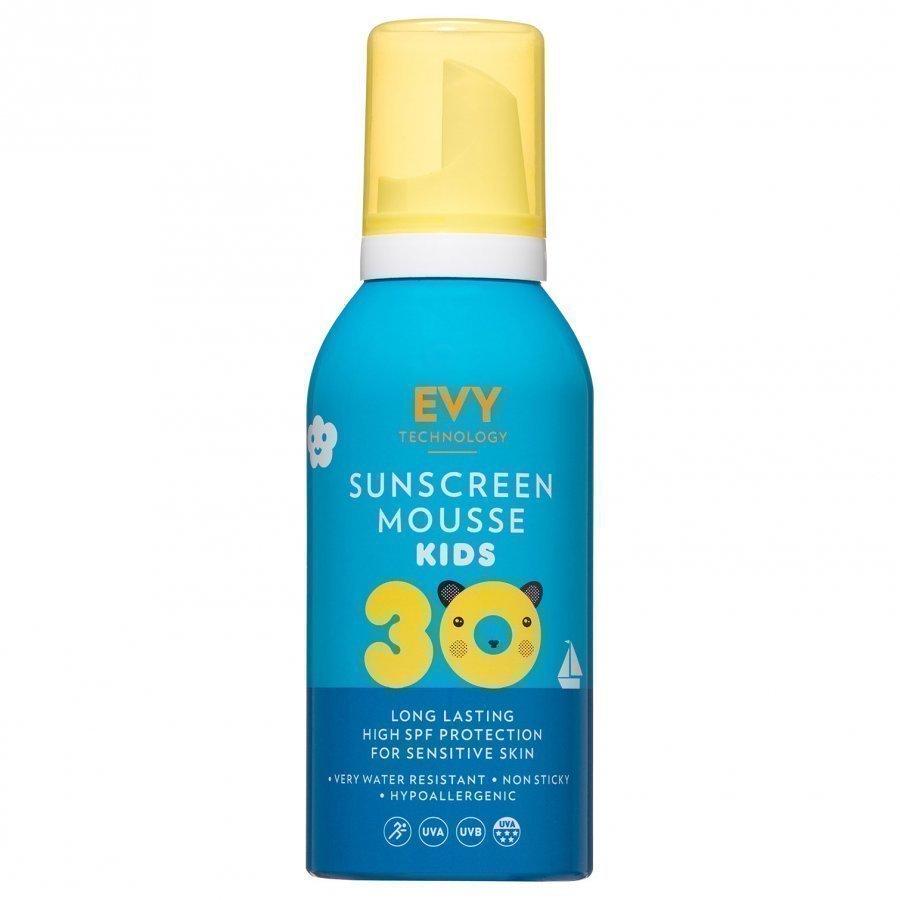Evy Technology Mousse Spf 30 150 Ml For Kids Sininen Aurinkovoide