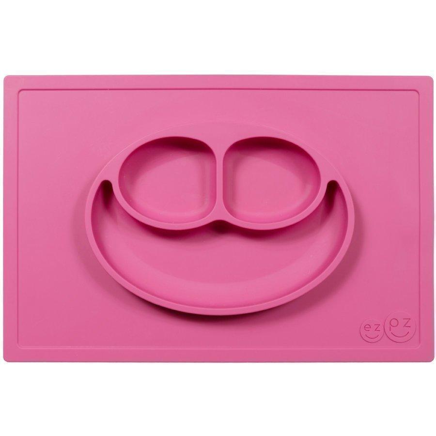 Ezpz Happy Mat Ruokailualusta Vaaleanpunainen