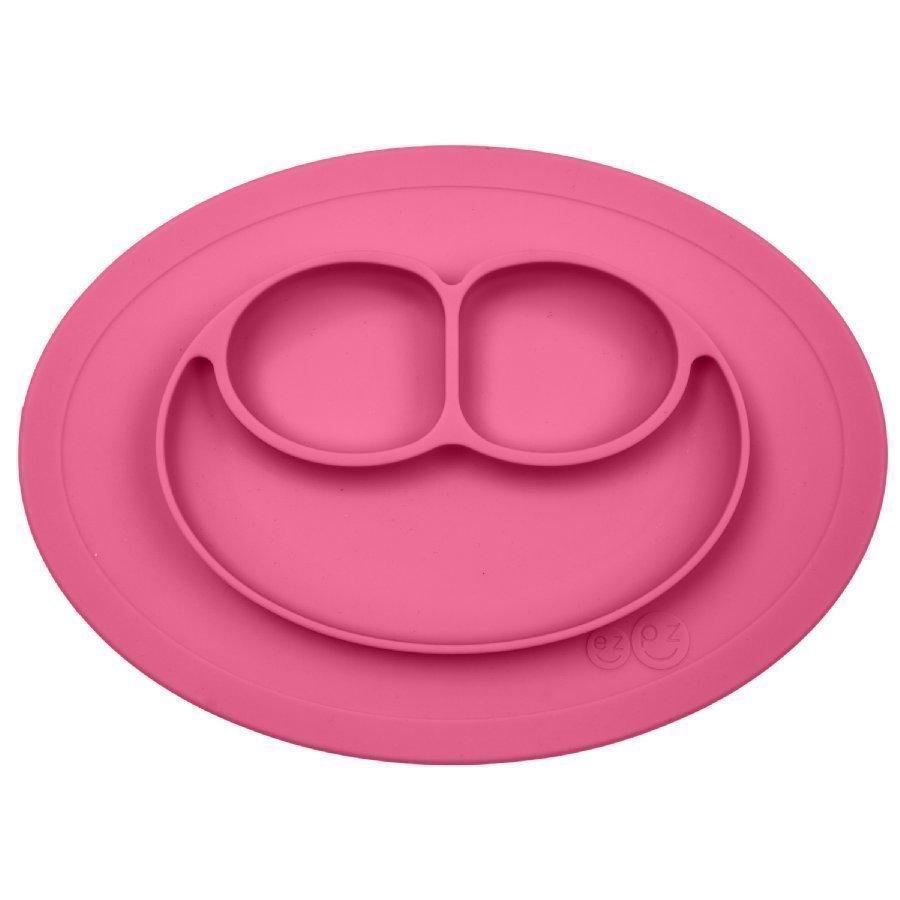 Ezpz Mini Mat Ruokailualusta Vaaleanpunainen