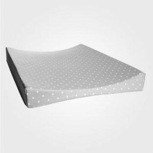 Färg & Form Changing Pad Dots Grey Hoitoalusta