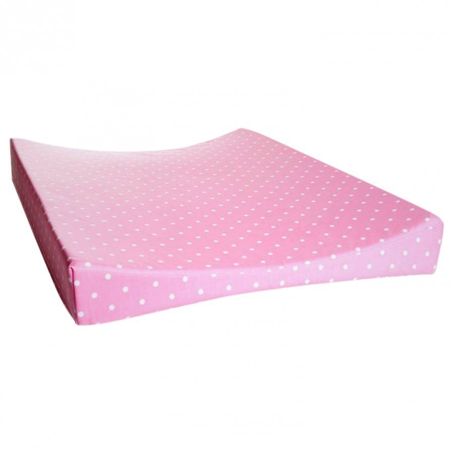 Färg & Form Changing Pad Pink Dots Hoitoalusta