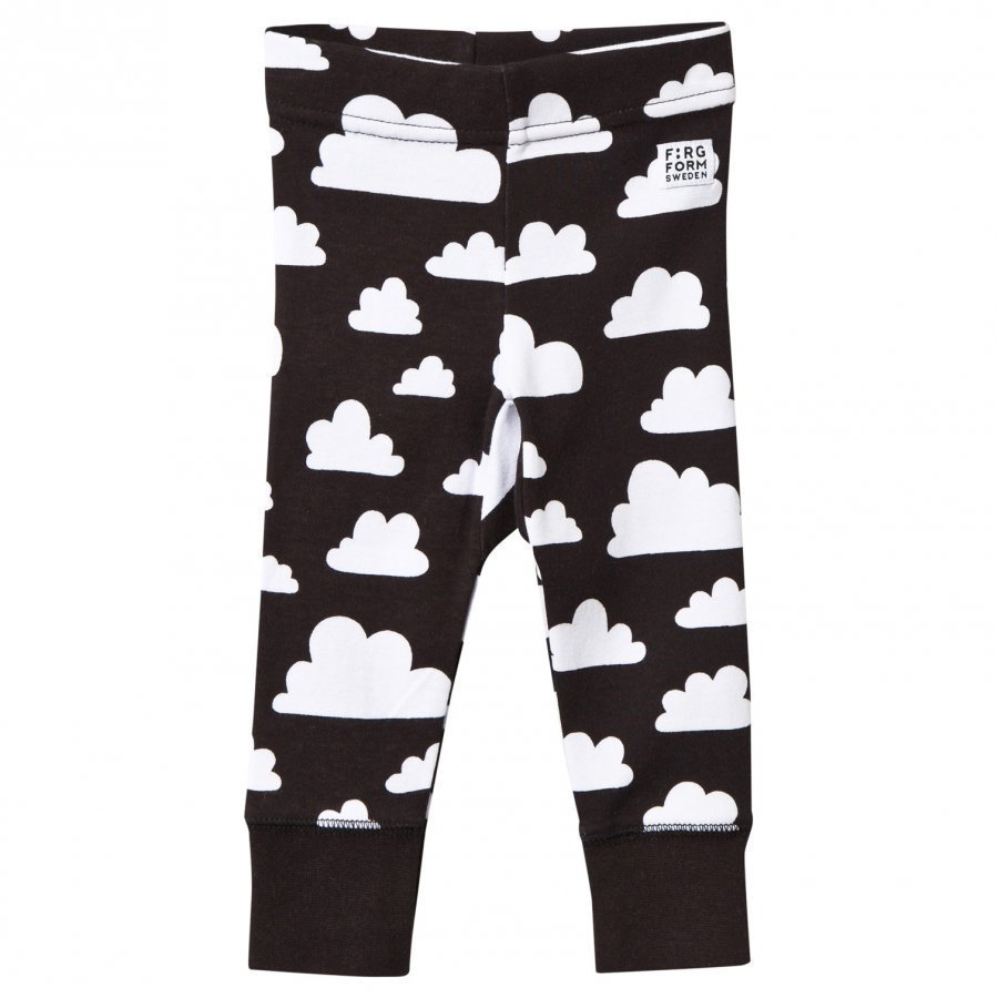 Färg & Form Cloud Pants Black Legginsit