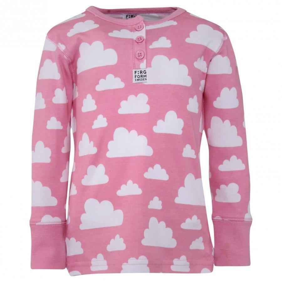 Färg & Form Cloud T-Shirt Pink Oloasun Paita
