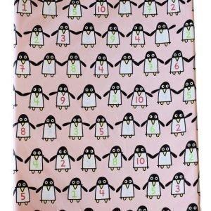 Färg & Form Hoitoalusta Penguin Pals Vaaleanpunainen