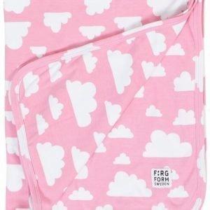 Färg & Form MOLN Puuvillahuopa Vaaleanpunainen
