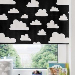 Färg & Form Moln Rullaverho Musta 120 cm